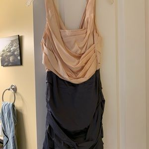 Express studio pink/grey dress